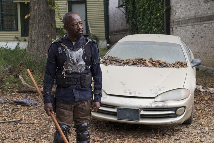 Lennie James as Morgan Jones - The Walking Dead _ Season 7, Episode 16 - Photo Credit: Gene Page