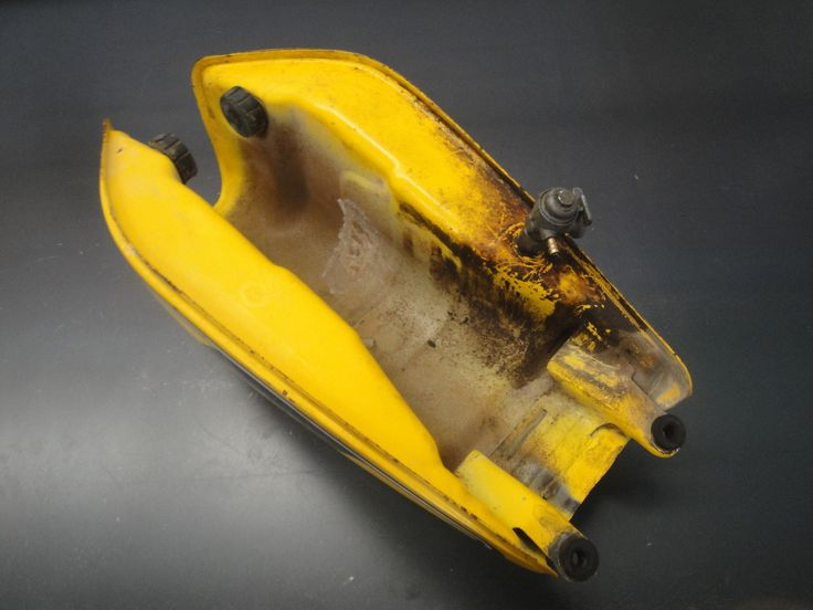 78 1978 Yamaha DT125 DT 125 Motorcycle Engine Motor Gasoline Gas Tank Yellow | eBay