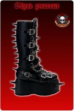 Интернет магазин панк обувь