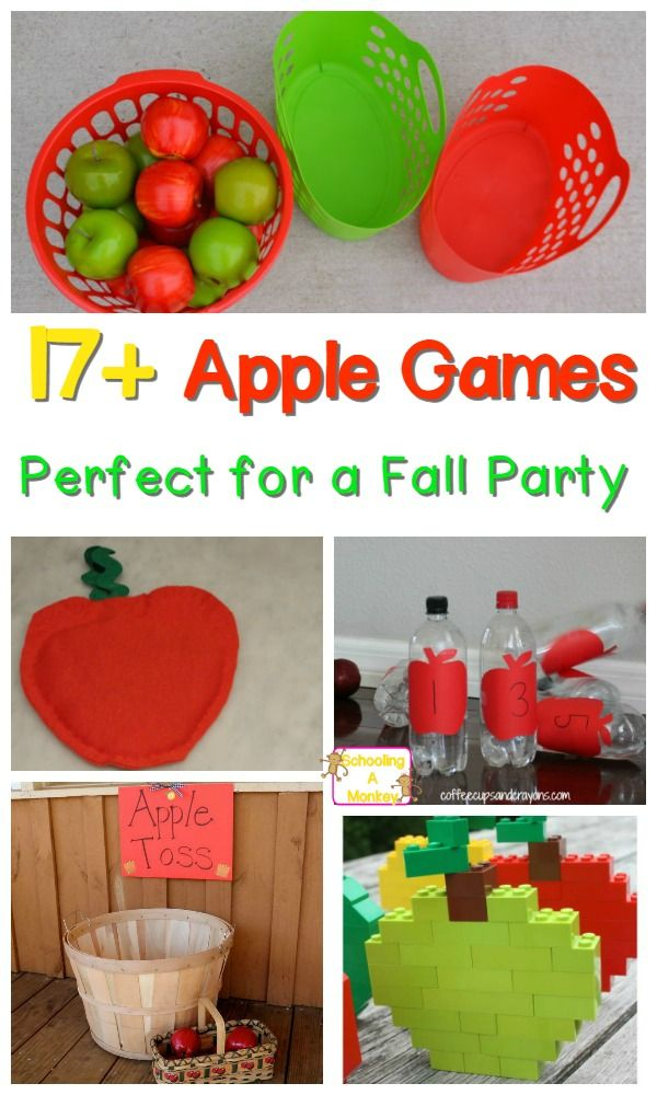 Spice up family game night with these fun apple-themed family fun night ideas…