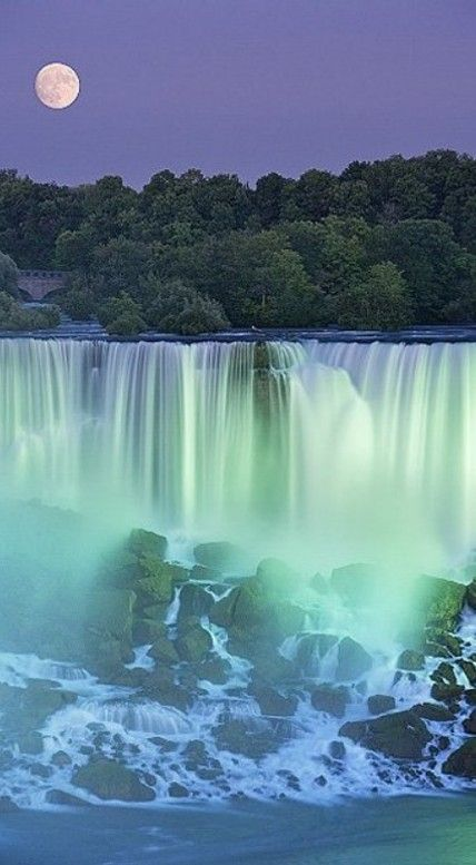 Niagara Falls (The American Falls) - by Darwin Wiggett - Natural Moments Photography and Gallery