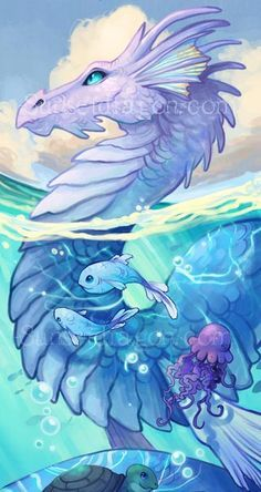 mythical water creatures list - Google Search