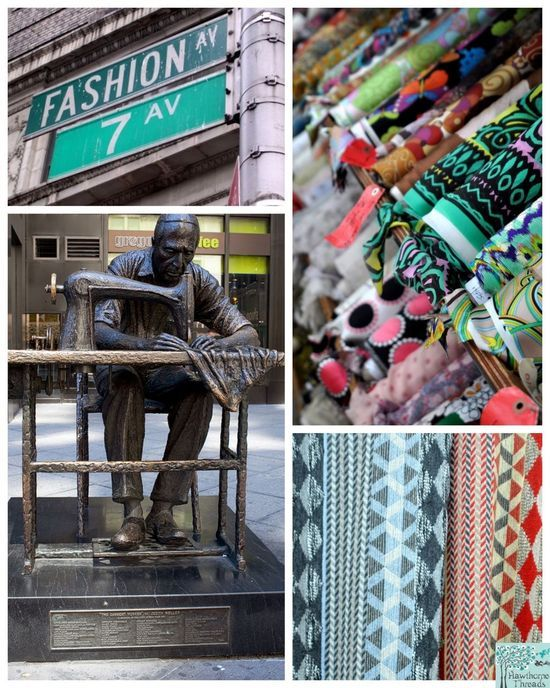 Out and About - The Garment District, NYC - Hawthorne Threads Blog