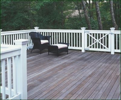 Custom Deck Railing | Commercial and Residential Solid Cellular PVC, Wood and Vinyl Exterior Deck, Patio, Poolside, Balcony and Staircase Railings from Walpole Woodworkers
