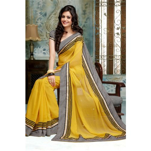Simplesarees party wear embroidered designer saree