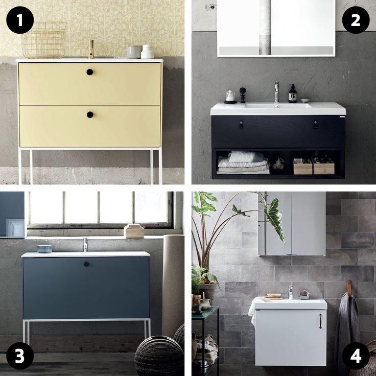 Dette er bare en liten del av utvalget av Ballingsløvs baderomsmøbler. Hvilken stil liker du best?