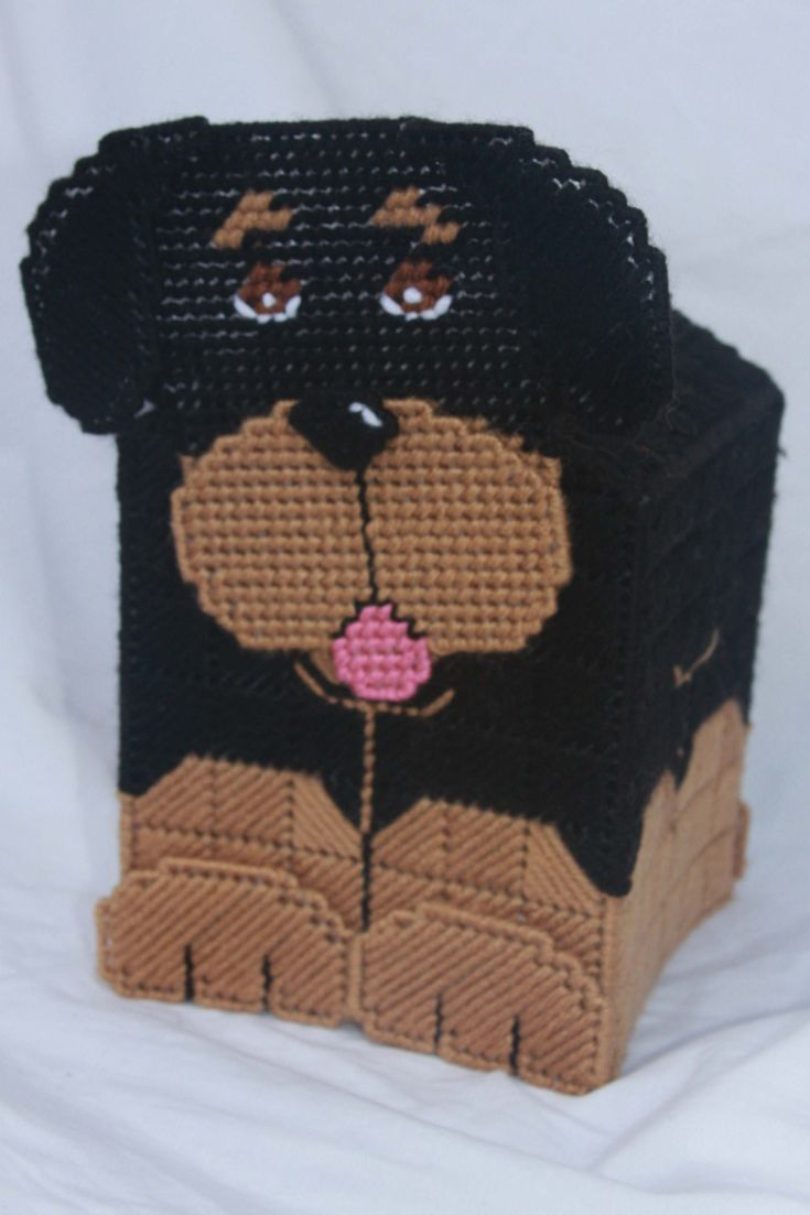 Everything Plastic Canvas Plastic Canvas 3d Rottweiler