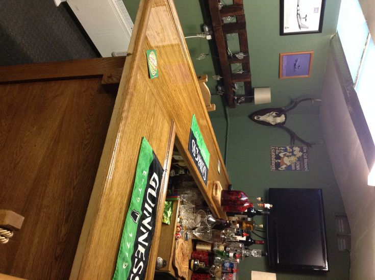 """Here's what David had to say about his project. """"I made mine with oak veneer MDF to > save on cost, I got the solid oak corbels on eBay for a song. I > couldn't get the bar rail locally in Scotland so I used solid oak > moulding made by my local joiner. The detail is solid oak skirting > board. And the resin top turned out fantastic - that was a great idea, thanks. I have really enjoyed doing it. > > The wine rack and sofa and extras are all made from reclaimed wooden > pallets that I got…"""
