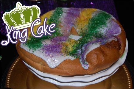 mardi gras: King Cakes New, Food & Drink, Plastic Baby, King Cakes Yum, Gras K Cakes, Gras Colors, Nola Babyyi, Cakes New Orleans, One K Cakes