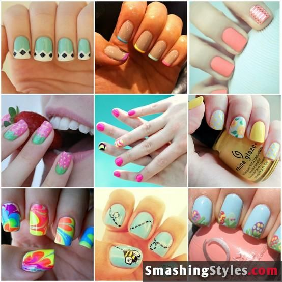 cute nail designs for teens - Google Search