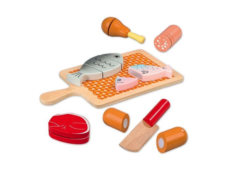 Mejores 33 im genes de comidas de madera en pinterest - Cocina lidl juguete ...