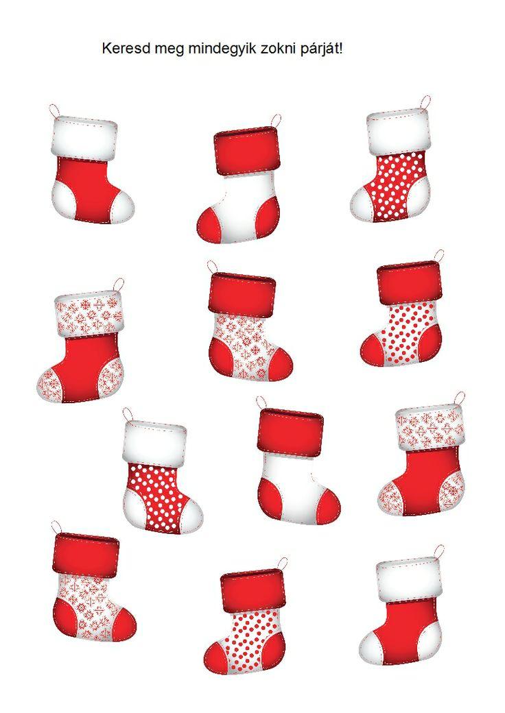 Keresd meg az egyforma zoknikat!