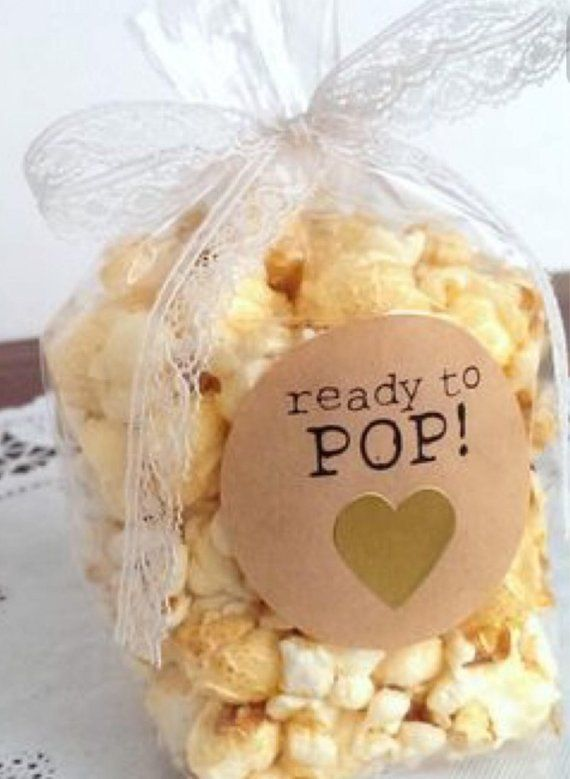 Ready to pop bags baby shower party favors