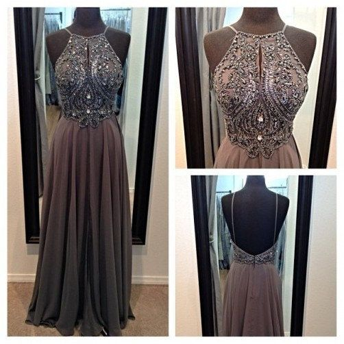 Spaghetti Straps Backless Long Prom Dress Homecoming Dress Formal Evening Dress Party Dress on Etsy, $139.00
