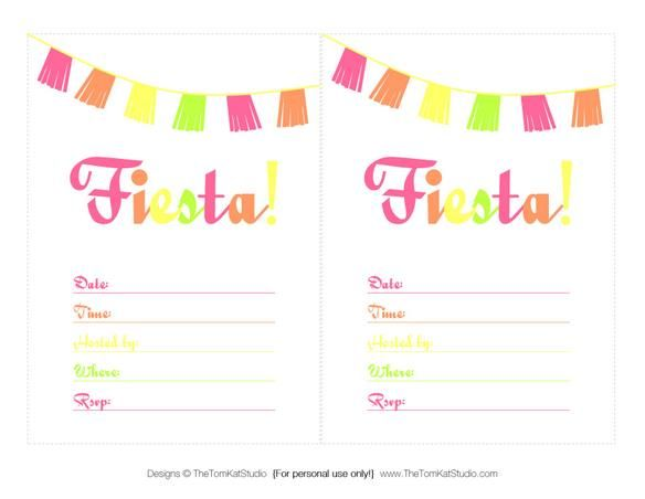 Free Printable Files Cinco De Mayo Fiesta Lisa Shower Pinterest