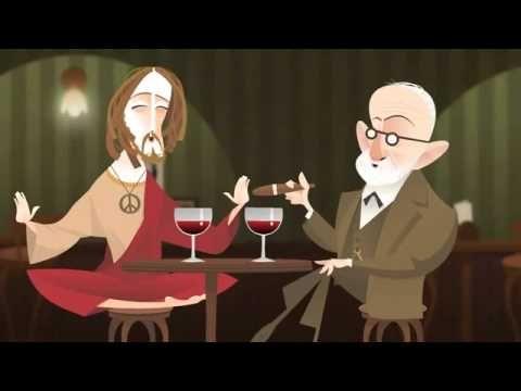 E se os mais importantes personagens da história se encontrassem para um drink? Freud e Jesus  History Drink - Jesus e Sigmund Freud - YouTube