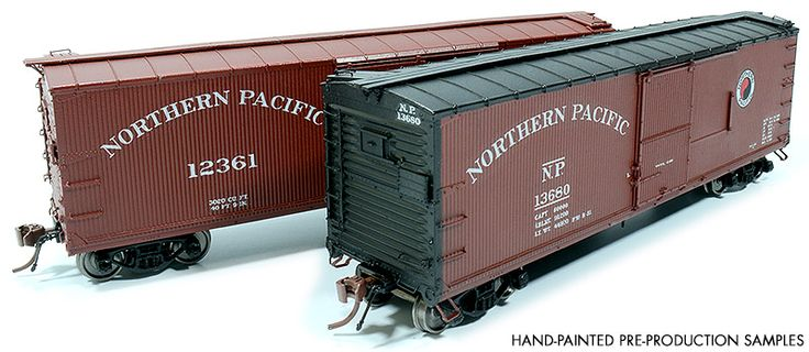 HO Scale NP 10000-series DS Boxcar - Rapido Trains Inc.