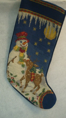 189 best Christmas Stockings images on Pinterest   Needlepoint ...