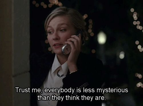 Elizabethtown (2005) Quote (About truth trust mysterious gifs)