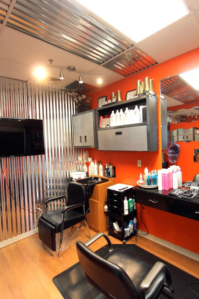 Home Salon, Salon Business, Salon Design, Beauty Salons, Hair Salons, Salon  Ideas, Beauty Shop, Hairdresser, Small Space