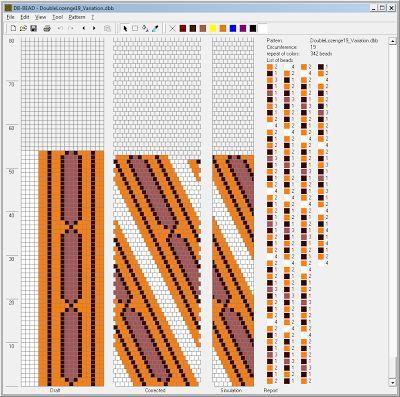 Free Crochet Bead Pattern Round 19