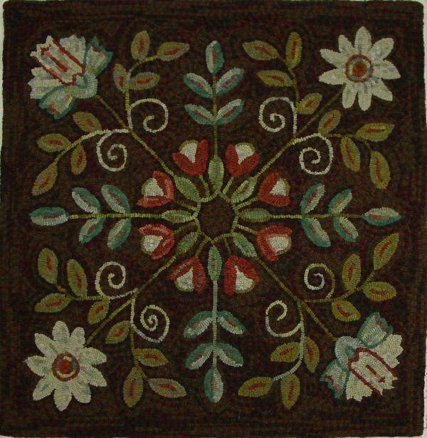 love these colors  Great symmetrical design idea