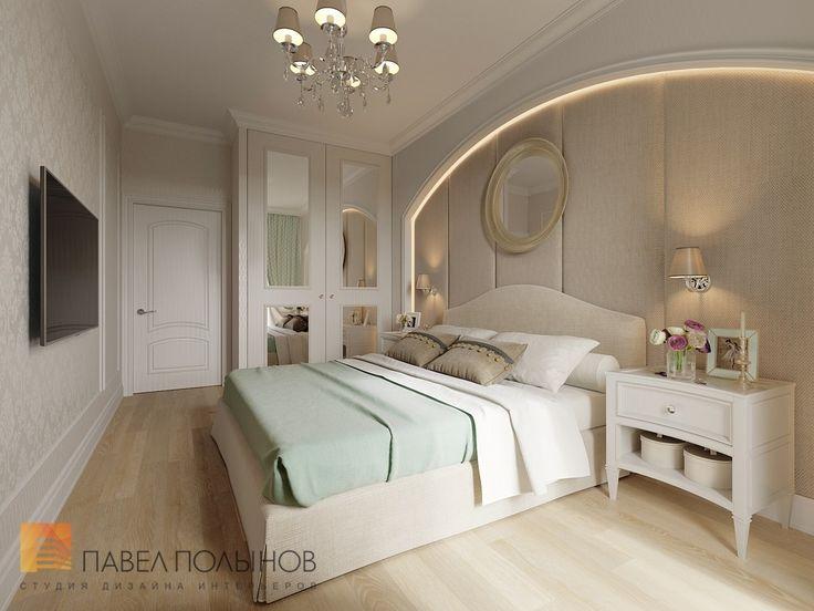 Фото: Интерьер спальни - Интерьер двухкомнатной квартиры в ЖК «Классика», 75 кв.м.