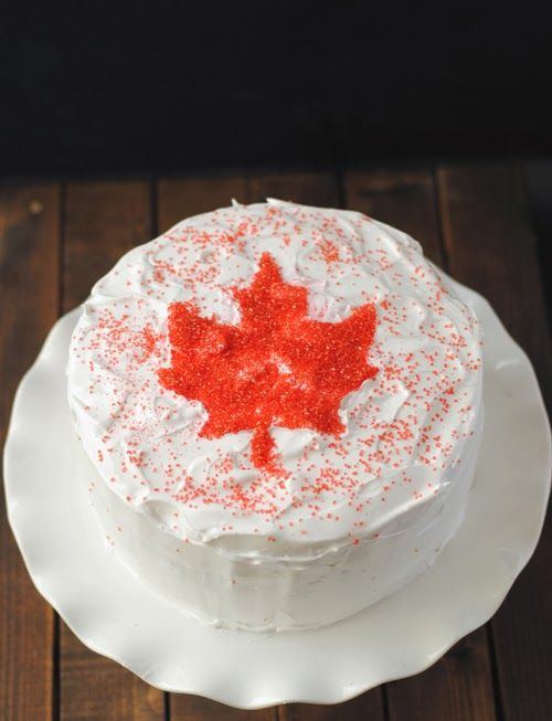 Leanne bakes: O Canada Cake
