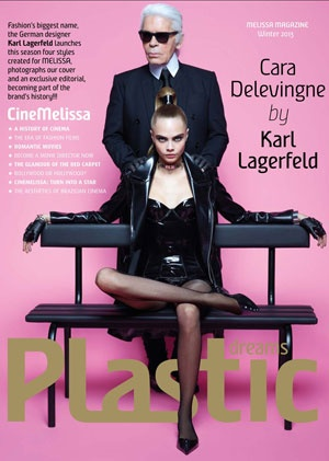 Karl Lagerfeld and Cara Delevingne for Melissa Shoes