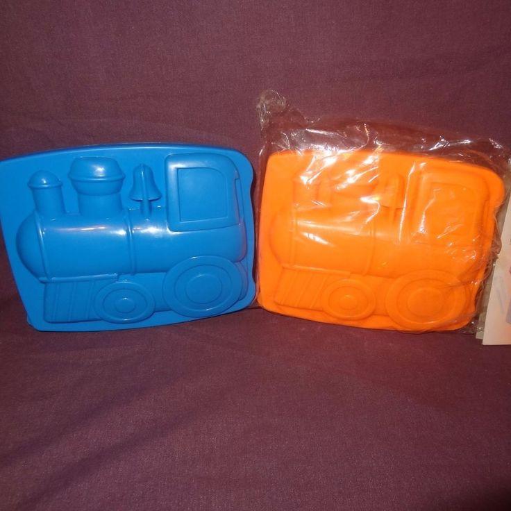 (2) Train Plastic Lunch box Sandwich Storage Good Old Values Spoon Fork Novelty  #GoodOldValues