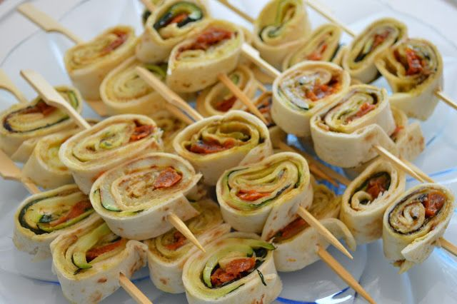 Vier Vandaag!: Recept - courgette pesto wraps (voor op de barbecue!)