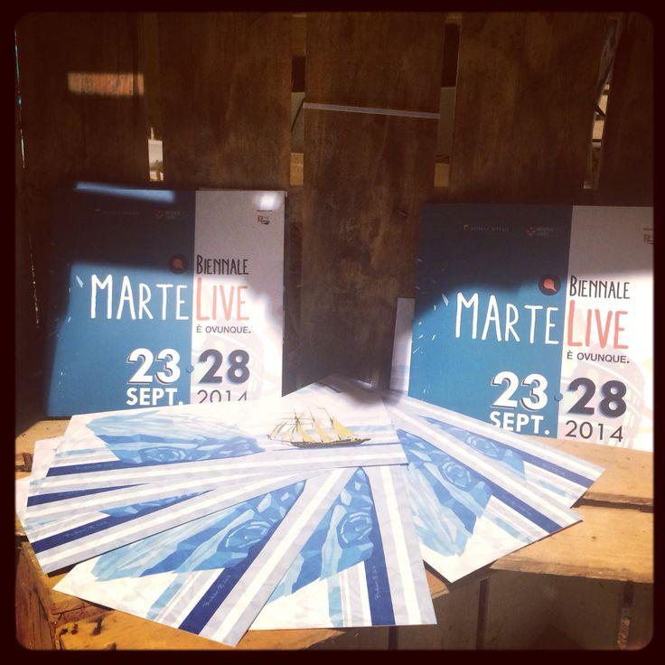 #biennaleMArteLive!