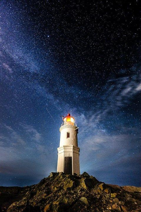 Tokarevskiy Lighthouse In Vladivostok