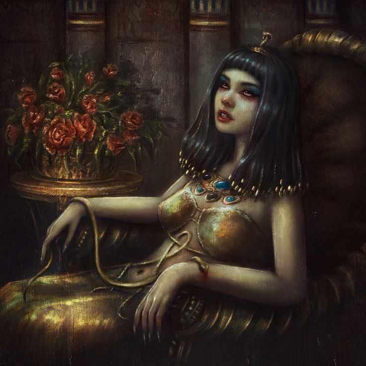 Cleopatra's death by Incantata on @DeviantArt