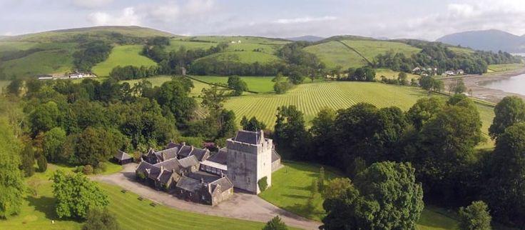 For Sale: Kames Castle Cottages and 20-acre estate