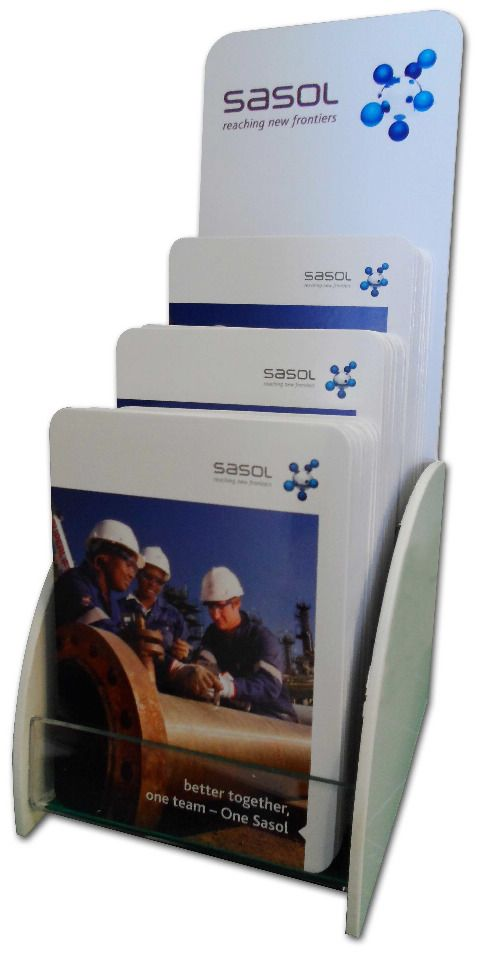 Sasol has selected a pocket-sized Z-CARD® as an innovative internal communication solution to communicate its value-driven, high performance culture to employees.
