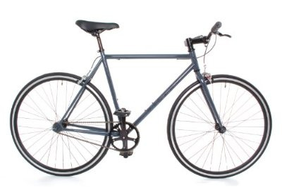 Fixed Gear Single Speed Track Bike - Fixie Medium 54cm Grey