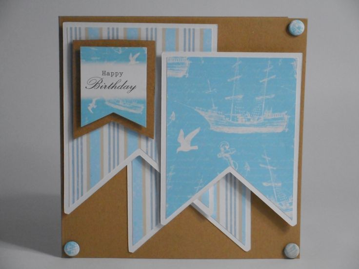 Card made by Phillipa Lewis using Craftwork Cards Coastal Collection.