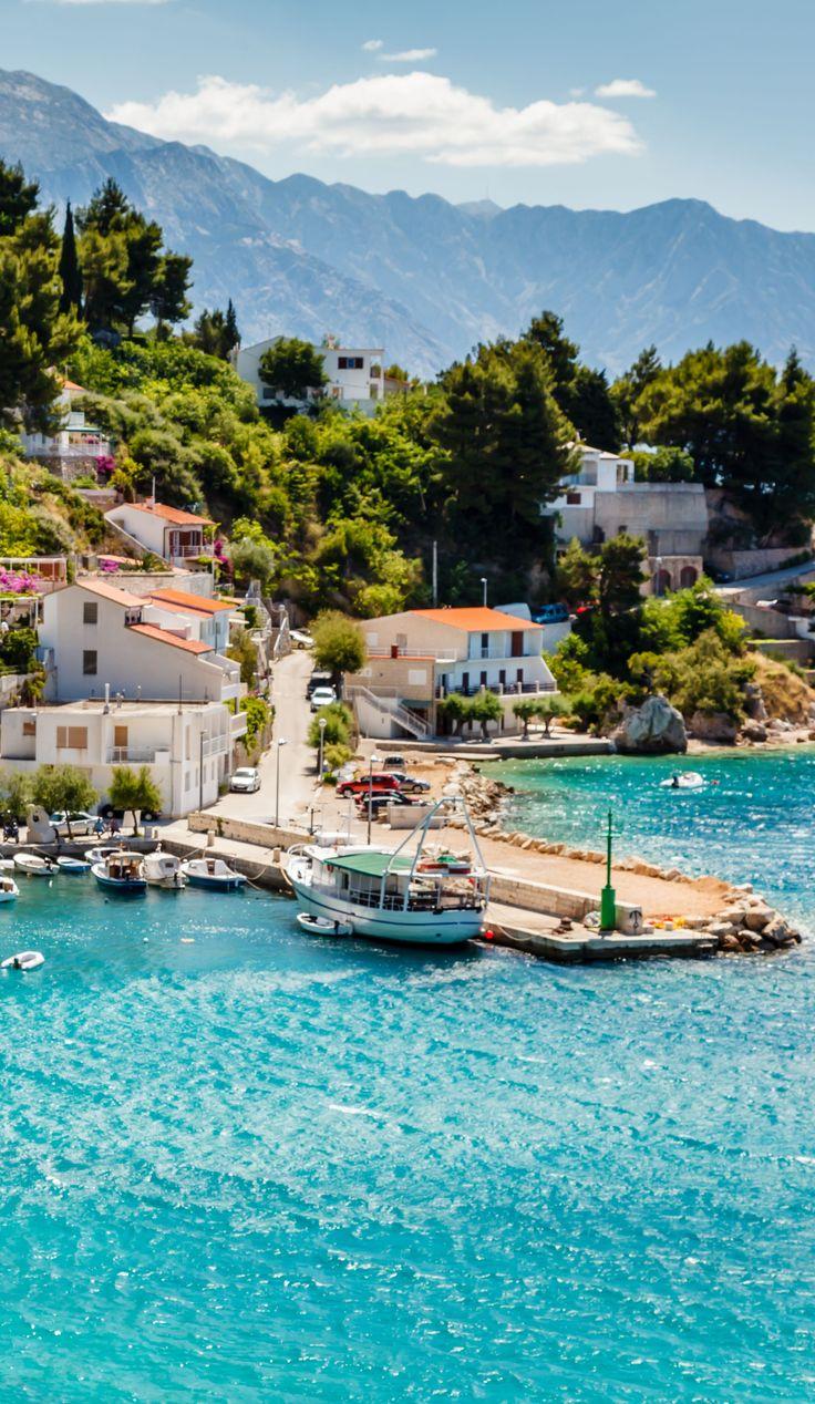 Amazing Adriatic bay in Split, Croatia