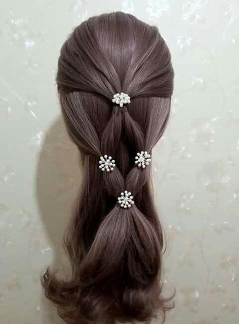 Diamond ponytail