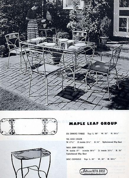 Salterini Patio Furniture Parts: 1000+ Ideas About Vintage Patio Furniture On Pinterest
