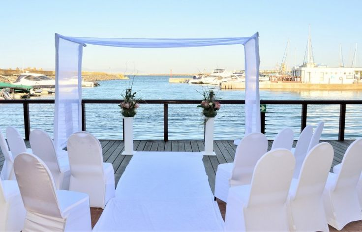 Overlooking the hotel's private marina, the Harbour View Room is ideally suited to hosting events ranging from wedding receptions to cocktail parties and banquets. This is one of the few event rooms in Cape Town to boast an exclusive seaside boardwalk.