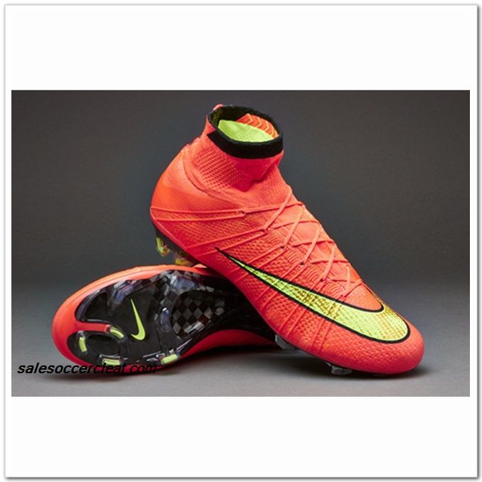 Nike Mercurial Superfly FG Red Hyper Punch Gold Black Low Price At $103.99  | Red Nike Mercurial Superfly FG | Pinterest
