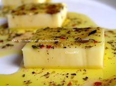 От простоты до изысканности...: Маринованный сыр
