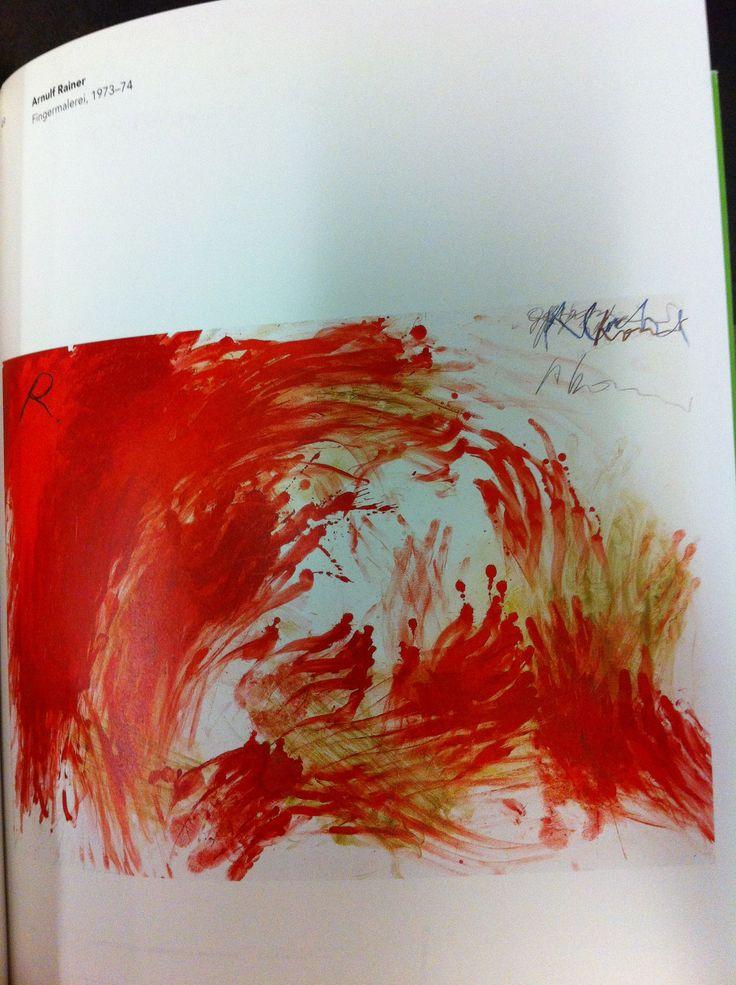 Fingermalerei by Arnulf Rainer. Van Gogh Museum/Stedelijk Museum, NAi Publishers. N6953.G3A42003