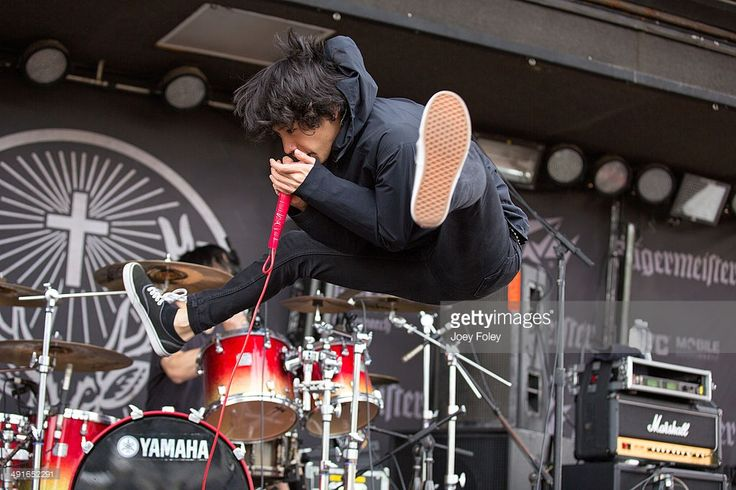Vocalist Taka of the Japanese rock band One Ok Rock performs during 2014 Rock On The Range at Columbus Crew Stadium on May 16, 2014 in Columbus, Ohio.