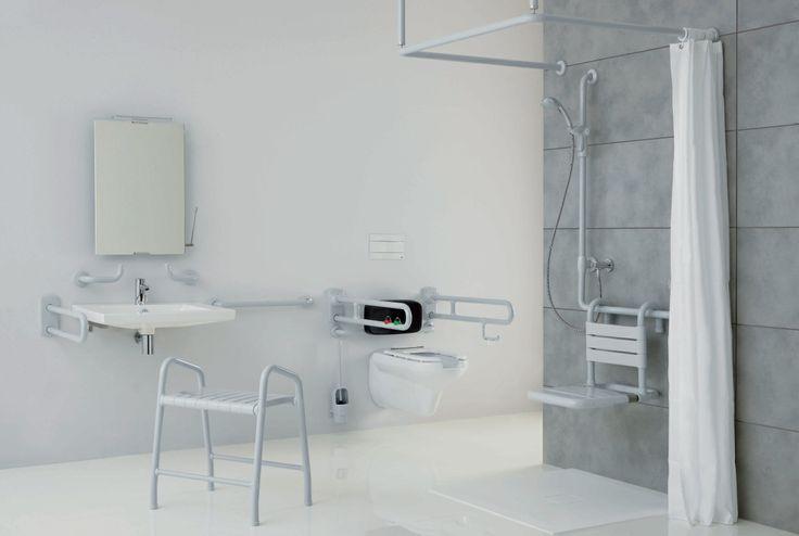 Oltre 25 fantastiche idee su bagno per disabili su - Bagno disabili cad ...