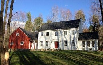 new england farmhouses | New England Farmhouse