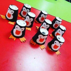 paper cup penguin craft (1)