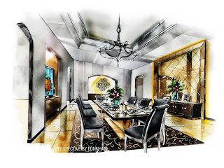 194 Best Interior Sketch Designs 3D Images On Pinterest